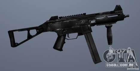 KM UMP45 Counter-Strike 1.5 para GTA San Andreas por diante tela