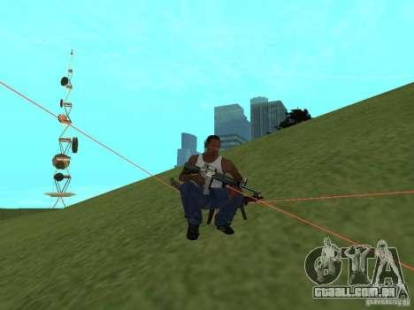 Laser Weapon Pack para GTA San Andreas sétima tela