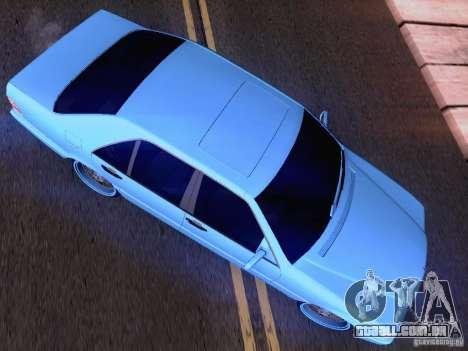 Mercedes-Benz S-Class W140 para GTA San Andreas interior