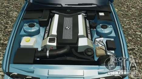 BMW E34 V8 540i para GTA 4 vista inferior