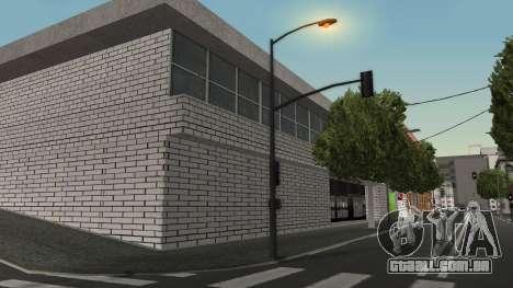 Estrutura de garagens e edifícios em SF para GTA San Andreas segunda tela