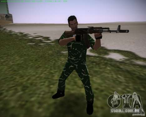 Pele é revelada para GTA Vice City segunda tela