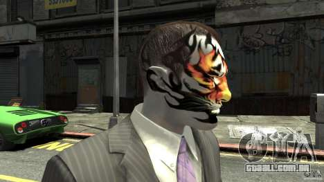 Tatoo Tiger para GTA 4 terceira tela