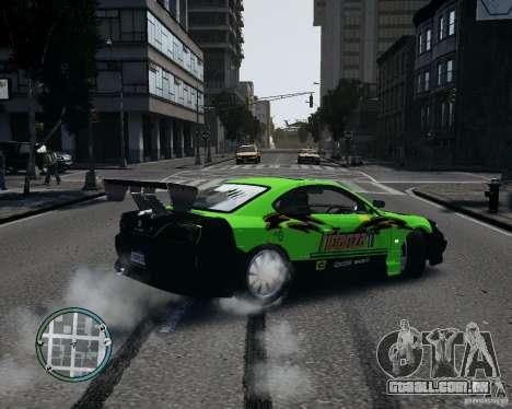 Nissan Silvia para GTA 4 esquerda vista