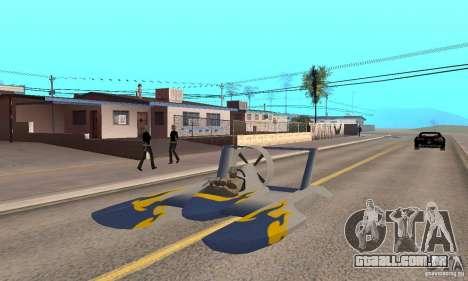 Hydrofoam para GTA San Andreas vista traseira