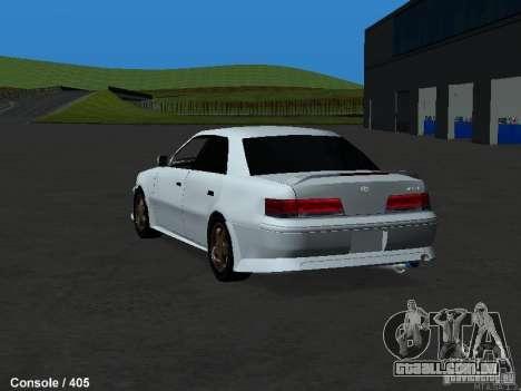 Toyota Mark II 100 1JZ-GTE para GTA San Andreas traseira esquerda vista