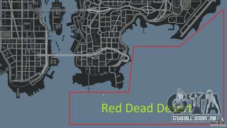 Red Dead Desert 2012 para GTA 4 décima primeira imagem de tela