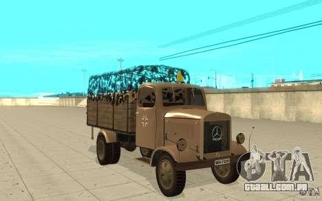 MERCEDES-BENZ L3000 v2.0 para GTA San Andreas