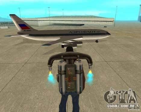 Ilyushin Il-86 para GTA San Andreas