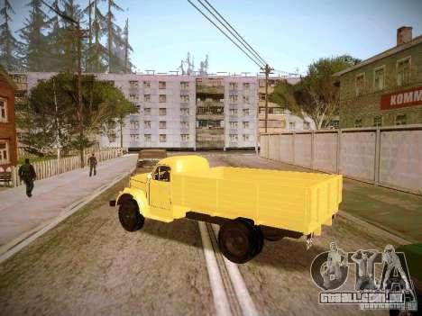 GÁS-51A para GTA San Andreas esquerda vista