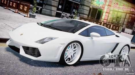Lamborghini Gallardo LP 560-4 DUB Style para GTA 4 motor