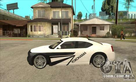 Dodge Charger R/T 2006 para GTA San Andreas vista superior