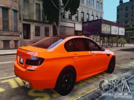 BMW M5 F10 2012 Aige-edit para GTA 4 esquerda vista