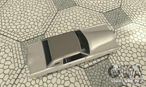 Lincoln Continental Mark IV 1972 para GTA San Andreas vista direita