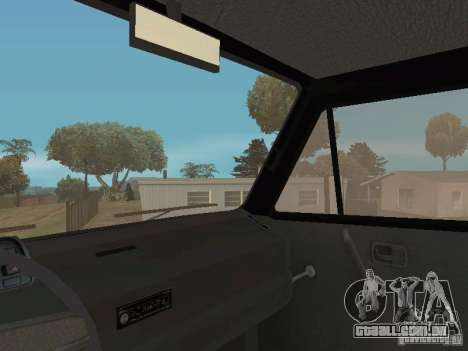 Volkswagen Transporter T3 para vista lateral GTA San Andreas