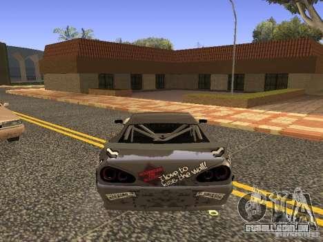 Elegy Drift Korch v2.1 para GTA San Andreas esquerda vista