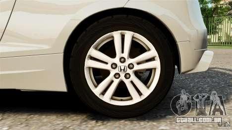 Honda Mugen CR-Z v1.1 para GTA 4 vista interior