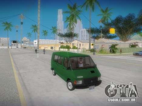 Renault Trafic T1000D Minibus para GTA San Andreas