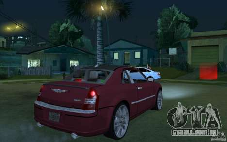 Chrysler 300c Roadster Part2 para GTA San Andreas vista direita