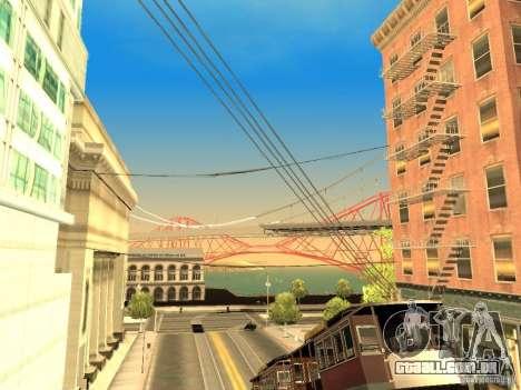 New Sky Vice City para GTA San Andreas nono tela