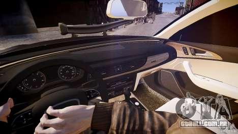 Audi A6 v1.0 para GTA 4 vista de volta