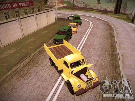 GÁS-51A para GTA San Andreas vista traseira