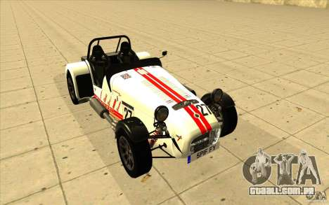 Caterham Superlight R500 para as rodas de GTA San Andreas
