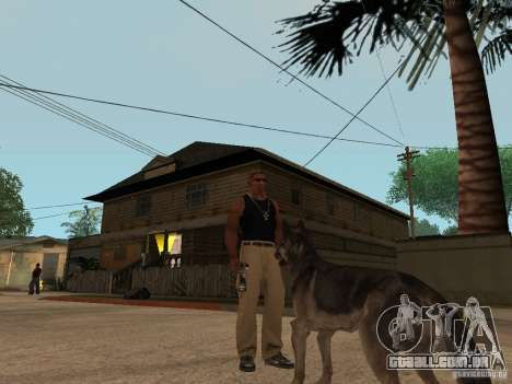 Cachorro no GTA San Andreas para GTA San Andreas