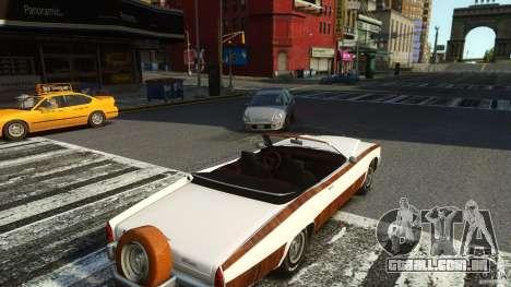 Buccaneer Final para GTA 4 vista de volta