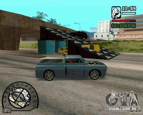 Saltos na auto-estrada em Las Venturase para GTA San Andreas