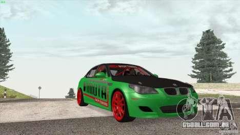 BMW M5 E60 Darius Balys para GTA San Andreas vista interior