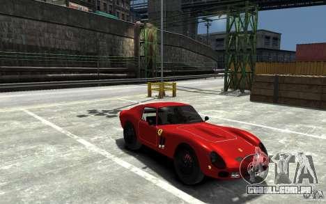 Ferrari 250 Le Mans para GTA 4 vista de volta
