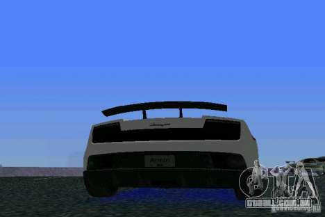 Lamborghini Gallardo LP570 SuperLeggera para GTA Vice City vista direita