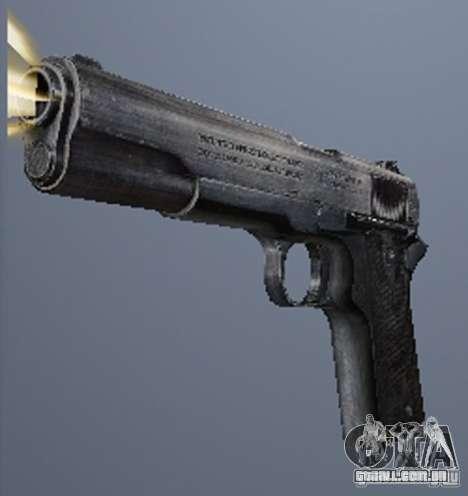 Um conjunto de armas do perseguidor V2 para GTA San Andreas quinto tela