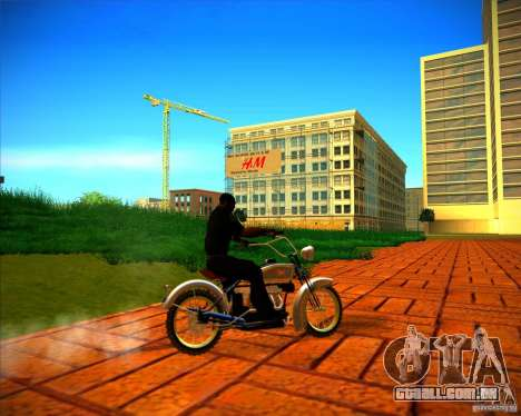 1923 ACE 1200cc para vista lateral GTA San Andreas