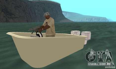 Bathtub Dinghy para GTA San Andreas