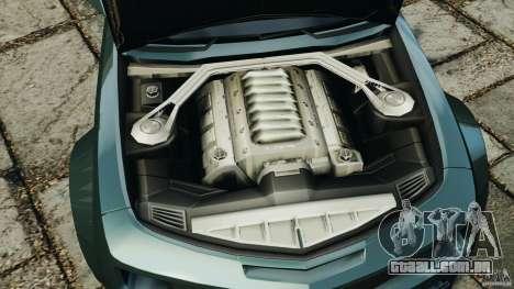 Chevrolet Camaro SS EmreAKIN Edition para GTA 4 vista de volta