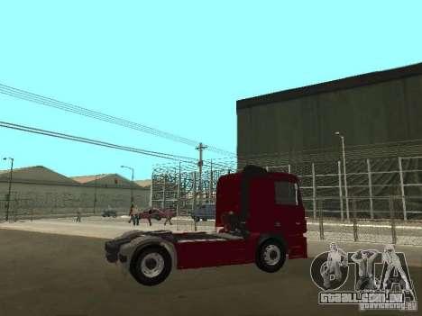Mercedes Actros Tracteur 3241 para GTA San Andreas vista direita