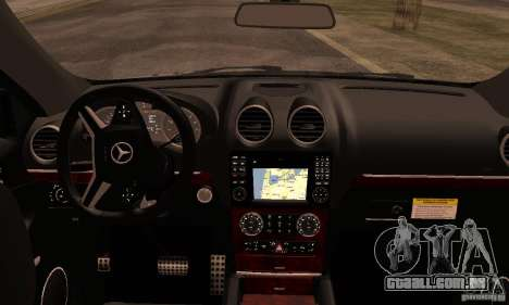 Mercedes-Benz ML63 AMG Brabus para GTA San Andreas vista direita
