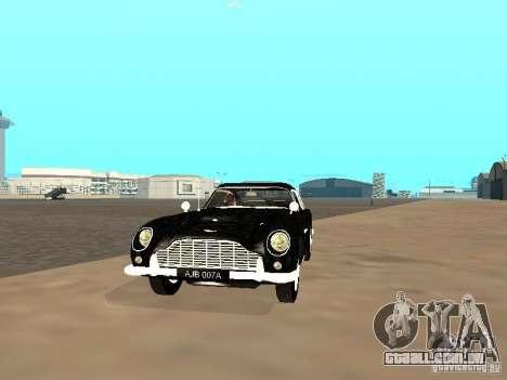 Aston Martin DB5 para GTA San Andreas esquerda vista