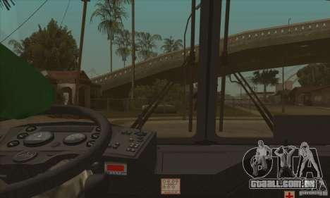 Maz-152A para GTA San Andreas vista superior