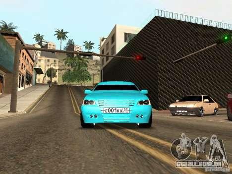 LADA Priora de 2170 para GTA San Andreas esquerda vista