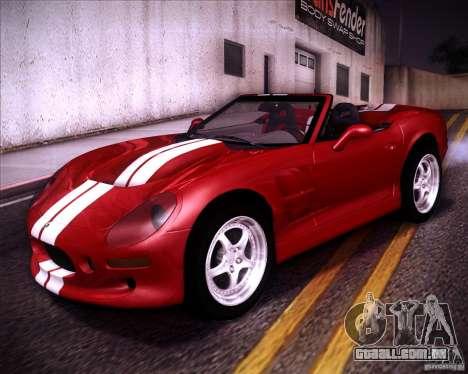 Shelby Series One 1998 para GTA San Andreas