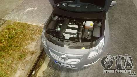 Opel Insignia Sports Tourer 2009 para GTA 4 vista de volta