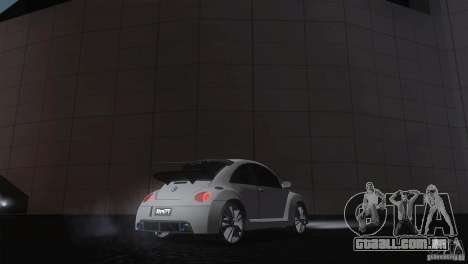 Volkswagen Beetle Tuning para GTA San Andreas traseira esquerda vista