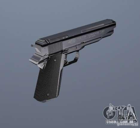 A nova pistola para GTA Vice City segunda tela