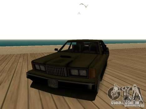 Sentinel XS para GTA San Andreas
