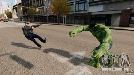 Script de Hulk para GTA 4 sexto tela