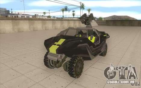 Halo Warthog para GTA San Andreas