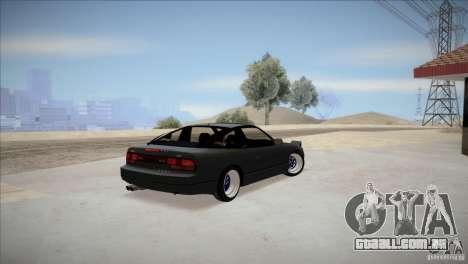 Nissan 240SX S13 para GTA San Andreas traseira esquerda vista
